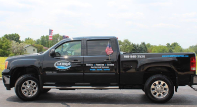 Our fleet of reliable vehicles allows us to meet your service needs that much faster!