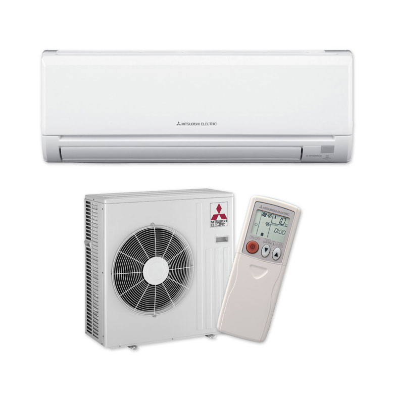 Mitsubishi Mini Splits provide zoned heating so you can heat and cool the rooms that you live in.