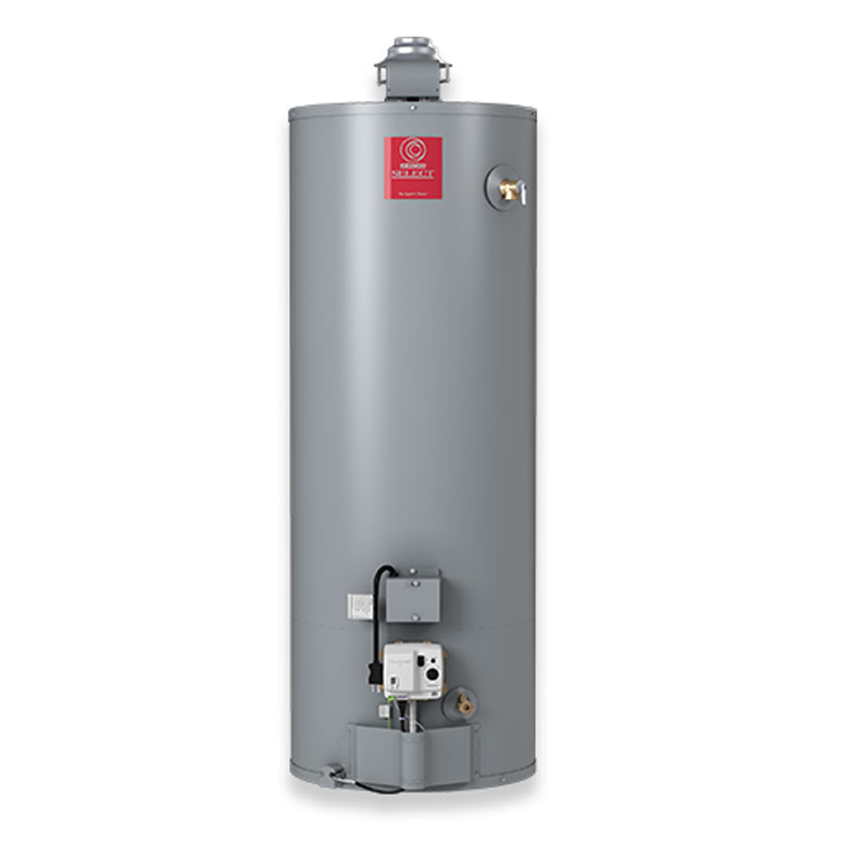 State conventional tank water heaters are an economic choice for larger homes.