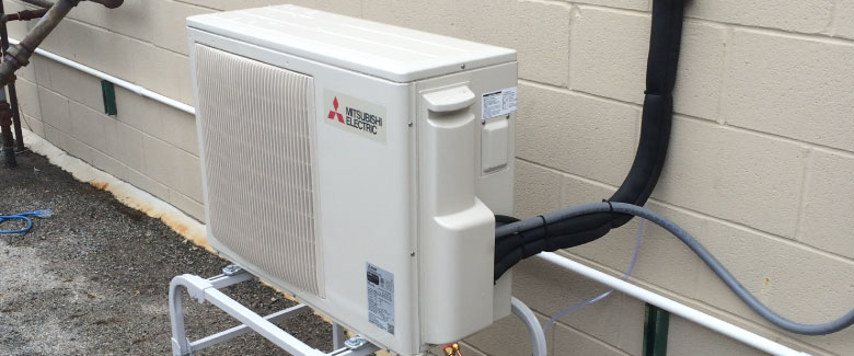 Keep cozy this fall with a Mini Split Heat Pump.